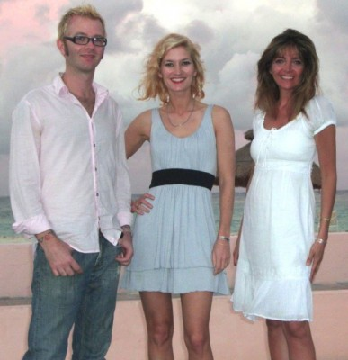 Susan's Trio: David Keith, Meghan Keith, and Susan